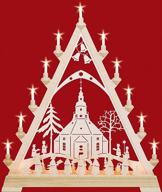 Große Spitze Seiffener Kirche