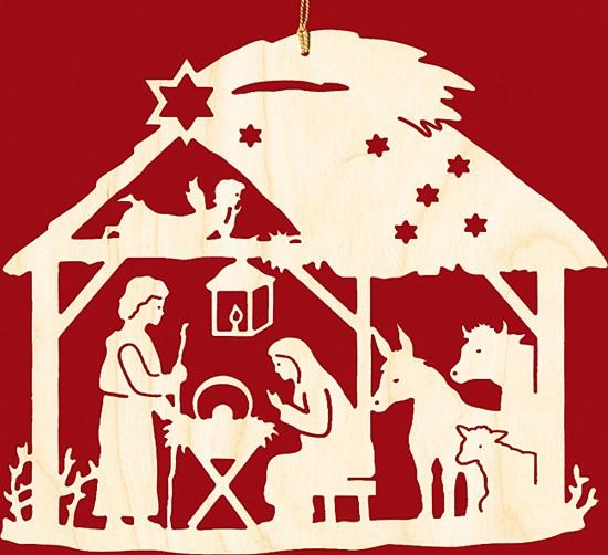 Fensterbild weihnachten christgeburt im haus - Fensterbilder weihnachten ...