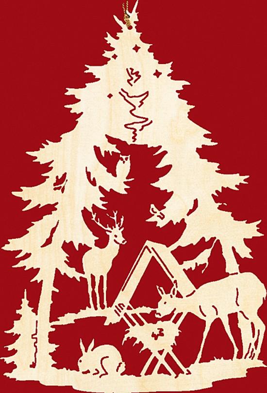Fensterbild weihnachten wildf tterung - Fensterbeleuchtung weihnachten ...