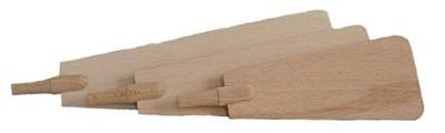Pyramidenflügel mit Schaft Dms. 5 mm,
