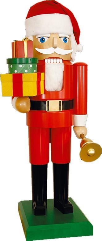 Nussknacker Santa mit Geschenken