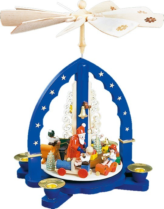 Pyramide Weihnachtszug