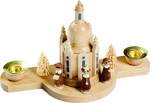 Kerzenhalter mit Dresdner Frauenkirche