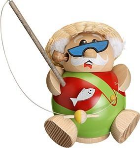 Kugelräucherfigur Hobby-Angler