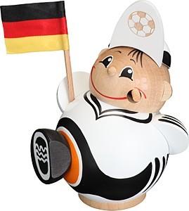 Kugelräuchermann Fußballfan