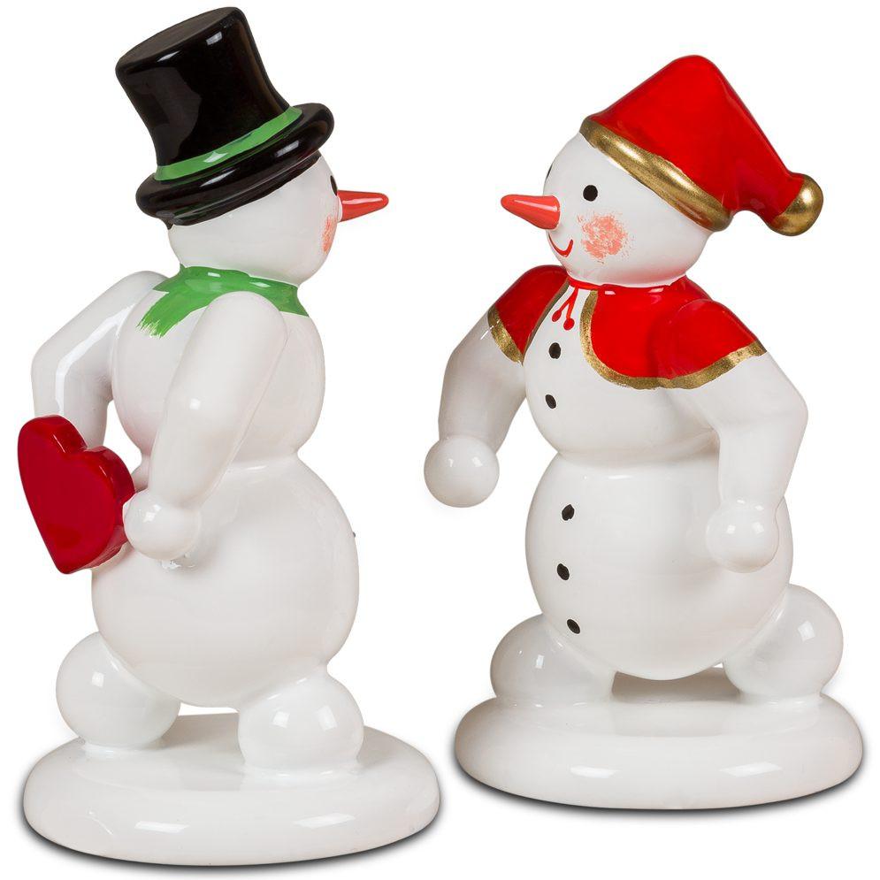 Schneemann und Schneefrau - Valentinstag