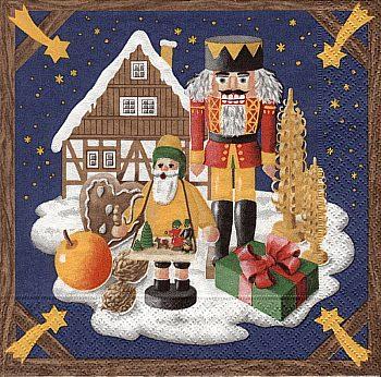 Servietten, Weihnachtsland