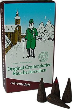 Crottendorfer Räucherkerzen, Adventsduft