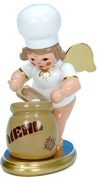 Bäckerengel mit Mehlsack