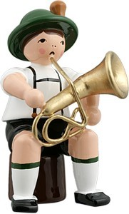 Bayernmusikant mit Baritonhorn