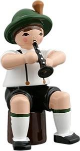 Bayernmusikant mit Flöte