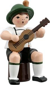 Bayernmusikant mit Gitarre