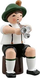 Bayernmusikant mit Martinstrompete