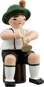 Bayernmusikant mit Trompete