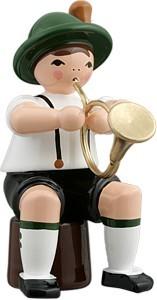Bayernmusikant mit engl. Horn
