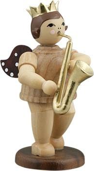 Engel mit Saxophon Natur
