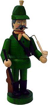 Räuchermann Jäger (grün)