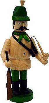 Räuchermann Jäger mit grünem Hut