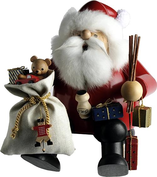 Kantenhocker Weihnachtsmann, mittelgroß
