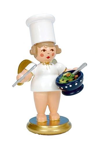 Kochengel mit Salatschüssel
