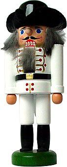 Korporal in weißer Uniform