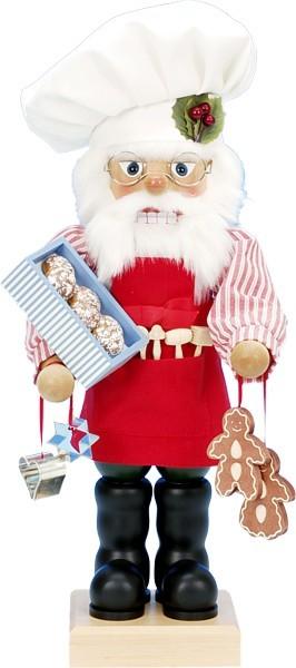 Nussknacker Santa mit Lebkuchen