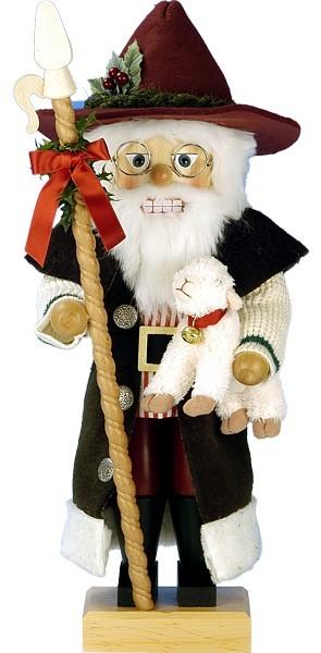 Nussknacker Schafhirte Santa