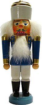 Erzgebirgischer Nußknacker König (blau)