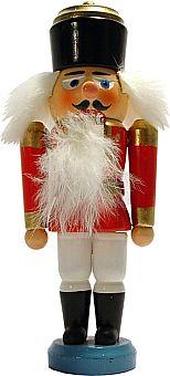 Erzgebirgischer Nußknacker König(rot)