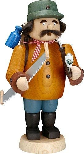 Räuchermann Holzmacher groß