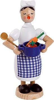 Räucherfrau Köchin