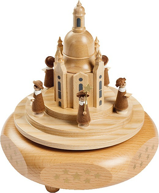 Spieldose Dresdner Frauenkirche mit Kurrende