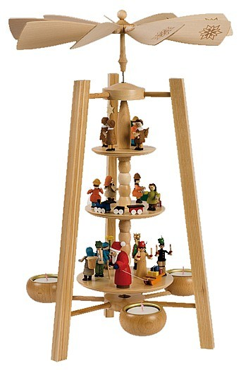 Weihnachtspyramide, Spielzeug
