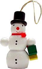 Schneemann mit Geschenke, Baumbehang