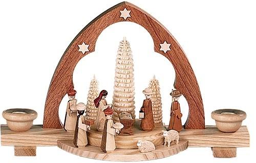 Schwibbogen Christi Geburt Natur