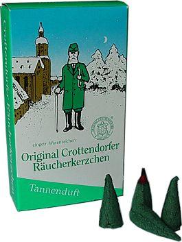 Crottendorfer Räucherkerzen Tannenduft