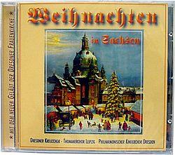 CD Weihnachten in Sachsen - mit dem Geläut der Dresdner Frauenkirche
