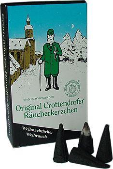 Räucherkerzen Räucherduft Crottendorfer Weihrauch 24 St Räucherkerzen NEU 14991