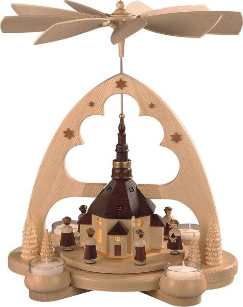 Bogenpyramide Seiffener Kirche
