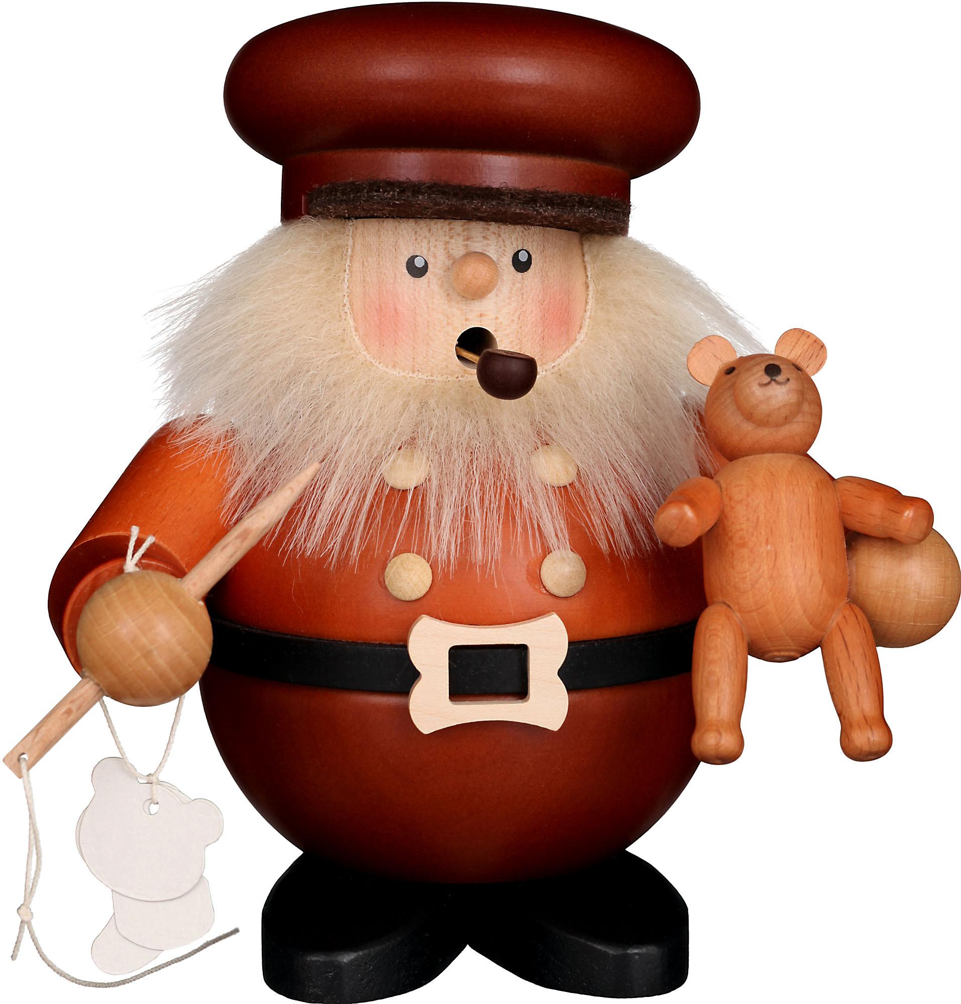 Räuchermann Teddybärmacher, natur