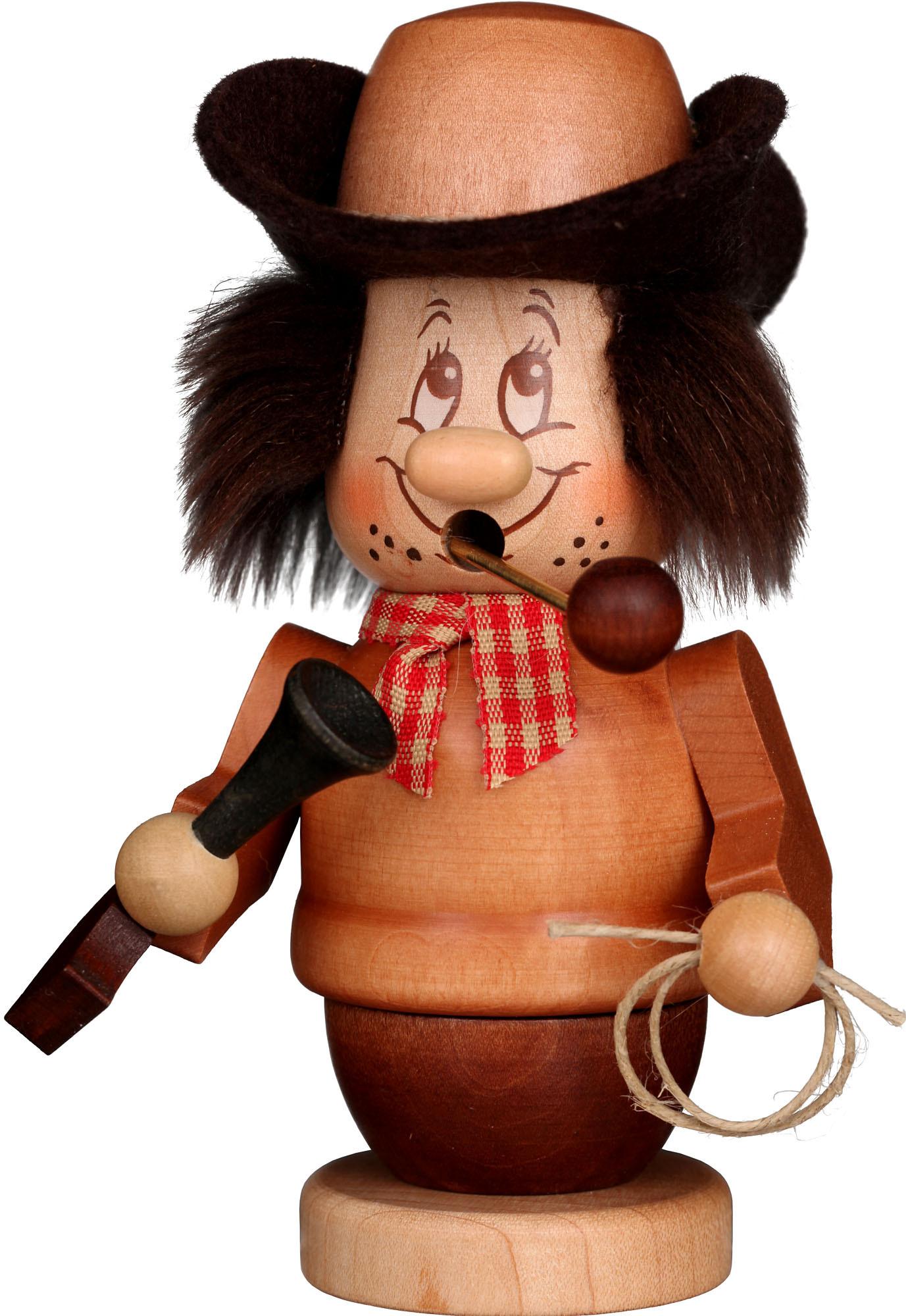 Räuchermann Miniwichtel Cowboy