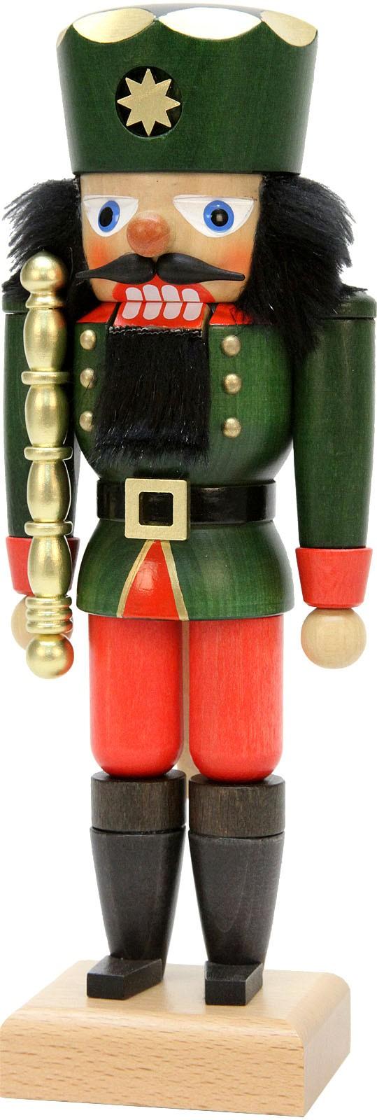 Nußknacker König grün
