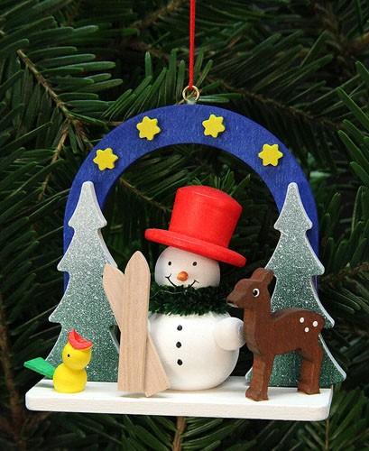Baumbehang Sternenhimmel mit Schneemann