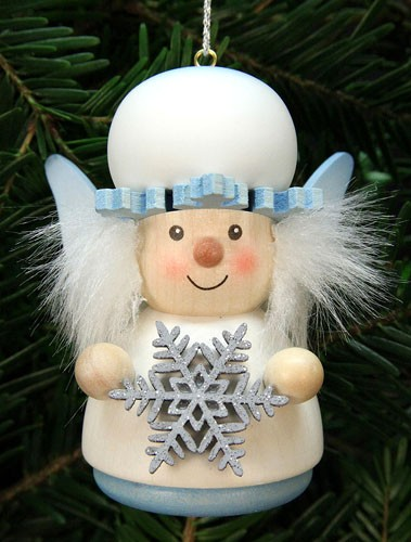 Baumbehang Weihnachtsmann Schneeflöckchen