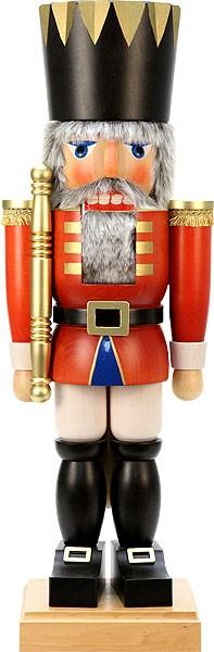 Nußknacker König rot