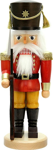 Nußknacker Soldat rot