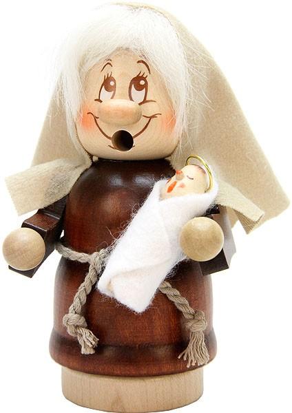 Räuchermännchen Miniwichtel Maria