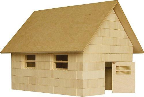 Bausatz für die Feldscheune<br> - der Holzbaustein mit dem Klick -