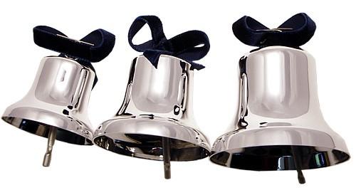 Glocken in silber