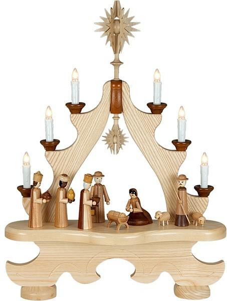 große Spitze Christi Geburt / natur